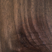 Shadow finish for walnut wood
