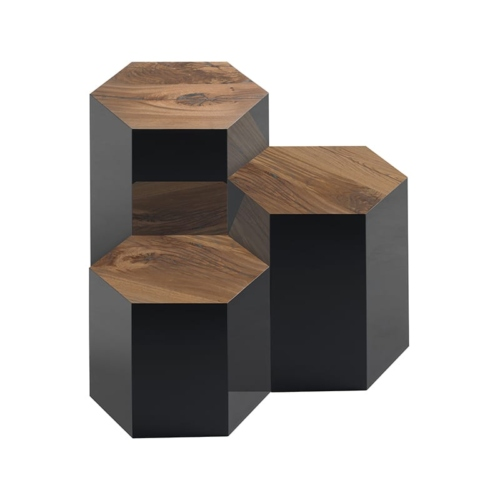 Group of 3 Juxtapo Side Tables