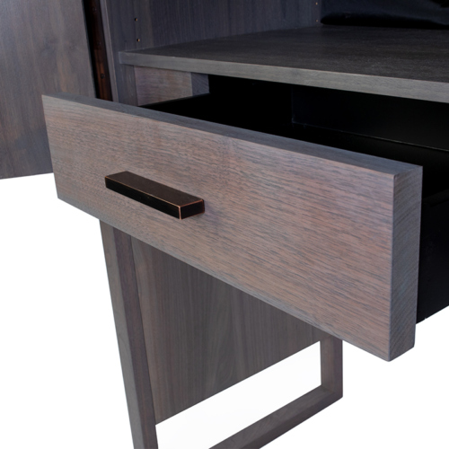 Phylo Hutch Drawer with Brass Handle by Facet Furniture