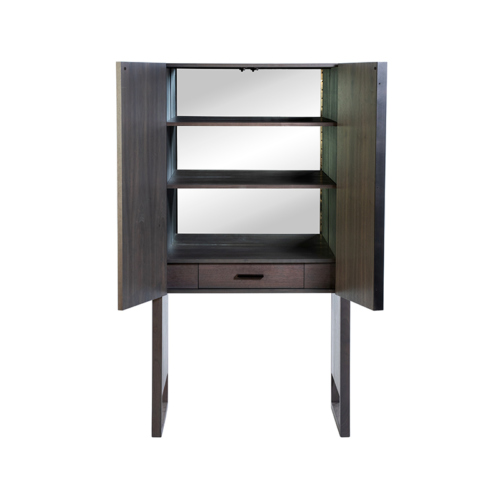 Phylo Hutch by Facet Furniture - Credenza with Mirror on Back