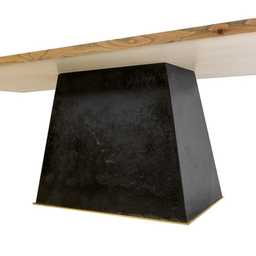 Leverage Dining Table base details