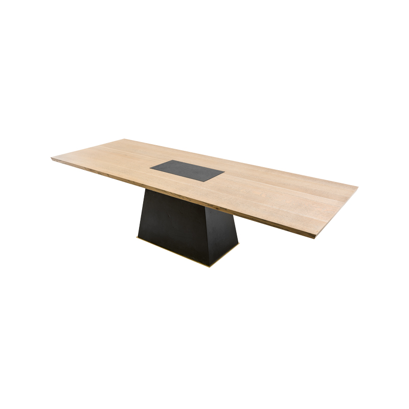 Leverage Dining Table top view