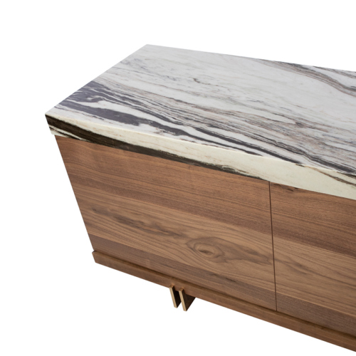 Prodigieux Credenza by Facet Furniture - Marble Top Credenza
