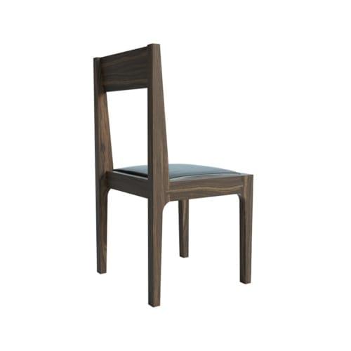 High Back Pure Walnut Chair