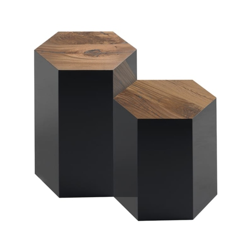 Tall & Medium Juxtapo side tables