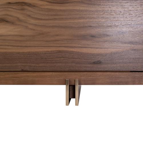 Prodigieux Credenza by Facet Furniture foot details