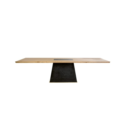 Leverage Dining Table front view
