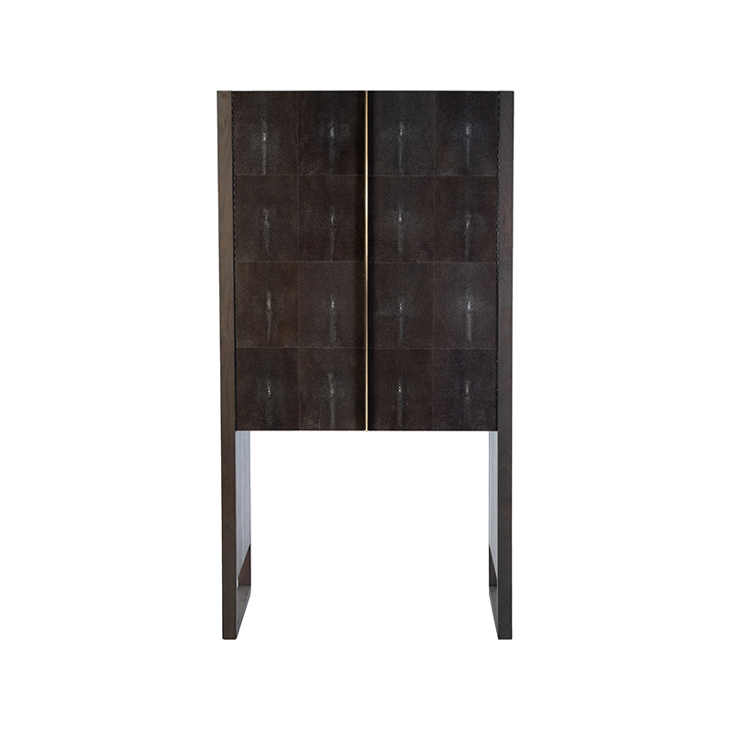 Phylo Hutch - Facet Furniture - Front View - Brass Details