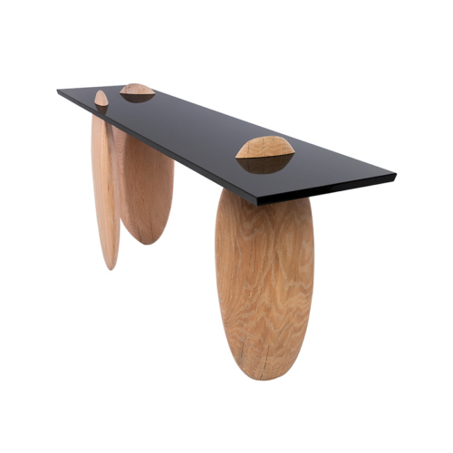Eisberg Entry Table by Facet Furniture from side