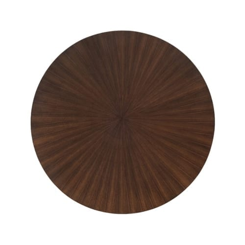 Radiate Tabletop with Walnut Finish